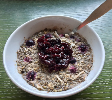 superfood ovenight oats